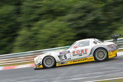 Michael Zehe, Marko Hartung, Mark Bullitt, ROWE RACING, Mercedes-Benz SLS AMG GT3