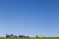 #57 Krohn Racing Ferrari 458 Italia: Tracy Krohn, Nic Jonsson, Maurizio Mediani, #35 OAK Racing Morgan - Nissan: Bertrand Baguette, Ricardo Gonzalez, Martin Plowman, #88 Proton Competition Porsche 911 GT3 RSR: Christian Ried, Gianluca Roda, Paolo Ruberti
