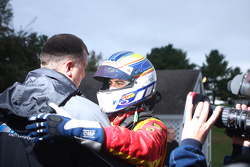 Race winner-#27 Freedom Autosport Mazda MX-5: Joel Miller