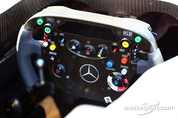 McLaren MP4-28 steering wheel