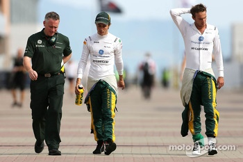 Charles Pic, Catheram Formula One Team and Giedo van der Garde, Caterham F1 Team