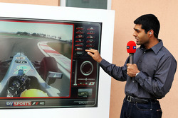 Karun Chandhok, Sky Sports F1 Commentator