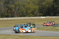 #8 Merchant Services Racing Oreca FLM09 Chevrolet: Kyle Marcelli, Chris Cumming