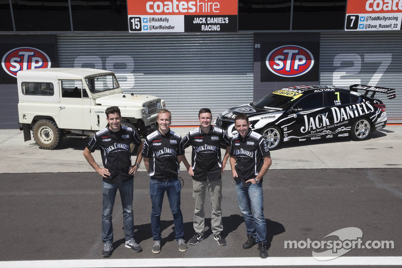 Todd Kelly, Rick Kelly, David Russell and Karl Reindler