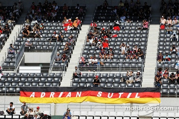 Banner for Adrian Sutil, Sahara Force India F1