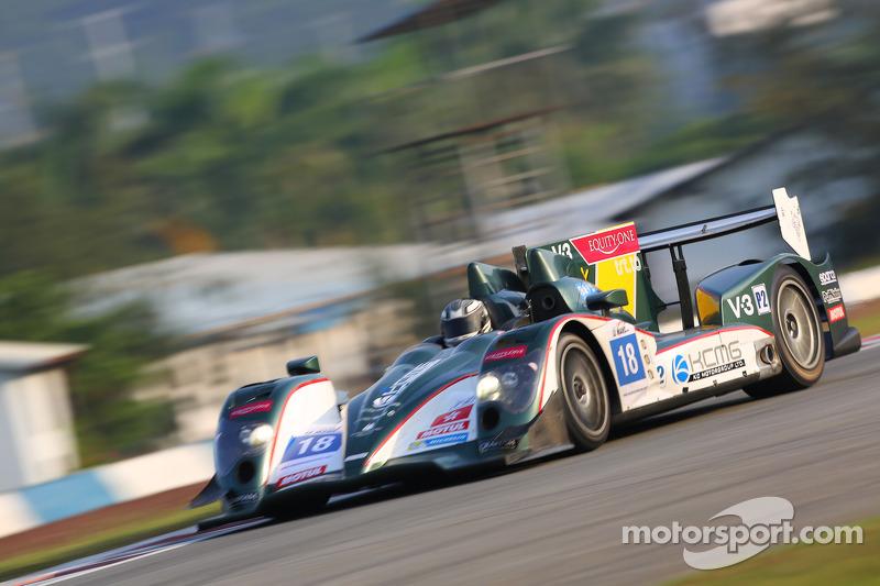 #18 KCMG Oreca-Nissan: James Winslow, Gary Thompson, Jordan Oon