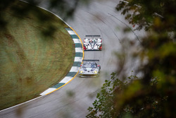 #91 SRT Motorsports SRT Viper GTS-R: Dominik Farnbacher, Marc Goossens, Ryan Dalziel, #6 Muscle Milk Pickett Racing HPD ARX-03c HPD: Lucas Luhr, Klaus Graf, Romain Dumas