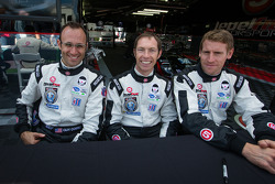 Guy Cosmo, Jonny Kane and Peter Dumbreck