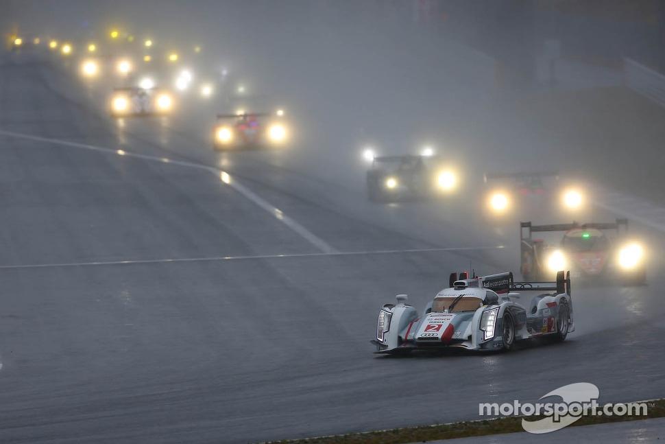 #2 Audi Sport Team Joest Audio R18 e-tron quattro: Tom Kristensen, Loic Duval, Allan McNish