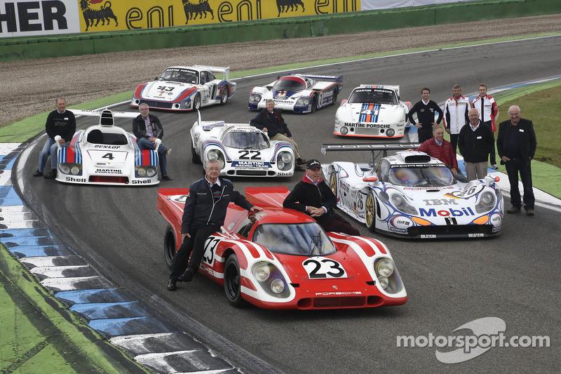 Le Mans winning Porsches