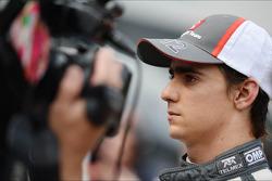 Esteban Gutierrez, Sauber with the media