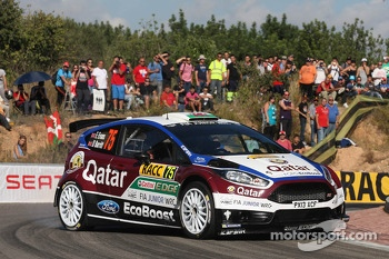 Elfyn Evans and Daniel Barritt, Ford Fiesta WRC
