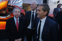 Alain Prost with Jean Todt, FIA President