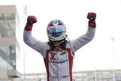 Race winner Tio Ellinas