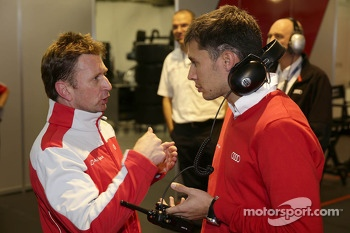 Allan McNish and Loic Duval