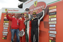 Europe Trofeo Pirelli podium race 1