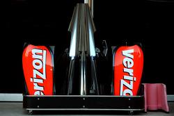 Verizon sponsorship on the McLaren