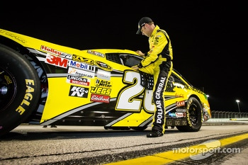 Pole winner Matt Kenseth, Joe Gibbs Racing Toyota