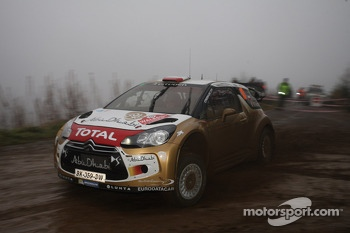 Robert Kubica and Michele Ferrara, Citroën DS3 WRC