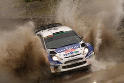Michal Solowow and Sebastian Rozwadowski, Ford Fiesta WRC
