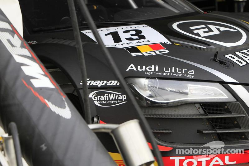 #13 Belgian Audi Club Team WRT Audi R8 LMS ultra: Frank Stippler, Edward Sandström