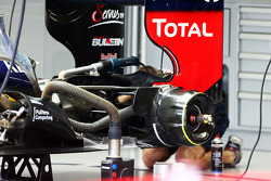 Lotus F1 E21 rear brake detail