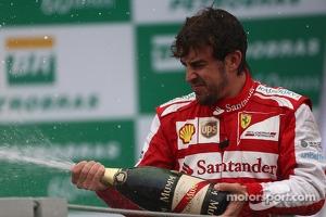 3rd place Fernando Alonso, Ferrari F138
