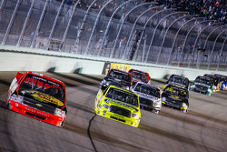 NASCAR-TRUCK: Ty Dillon leads a group of truck