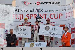 GT300 winner Daiki Sasaki