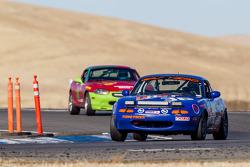 #36 Spare Parts Racing 2 Mazda Miata: Mick Hoogwerf, David Koh, Bart Wubben