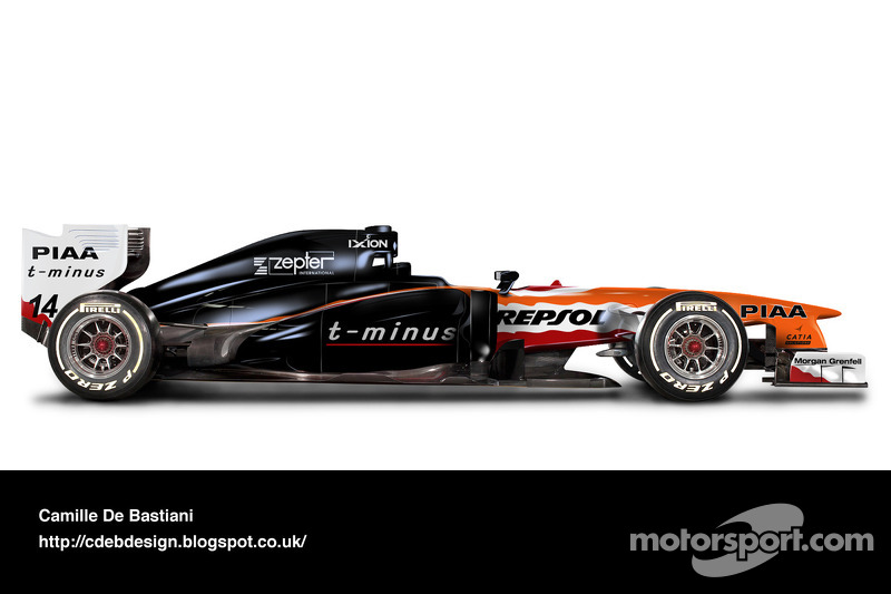 Formel-1-Auto im Retrodesign: Arrows 1999