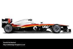 Retro F1 car - Shadow 1975