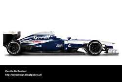 Retro F1 car - Tyrrell 1992
