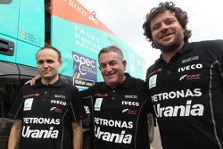 #520 Iveco: Joseph Adua, Ferran Alcayna, Marc Torres