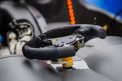 Steering wheel for #52 PR1/Mathiasen Motorsports ORECA FLM09 Chevrolet
