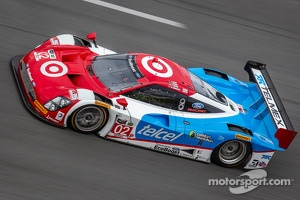 #02 Chip Ganassi Racing Riley DP Ford EcoBoost: Tony Kanaan, Kyle Larson, Marino Franchitti