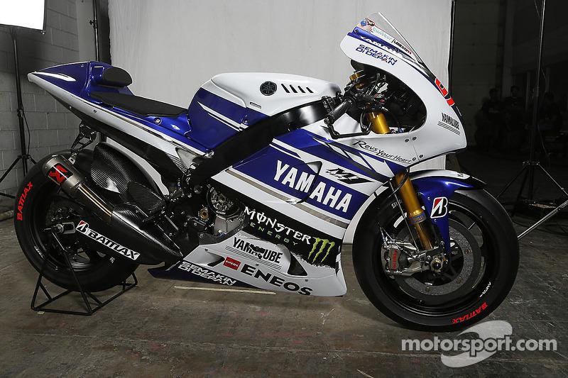 Die Yamaha YZR-M1 von Jorge Lorenzo