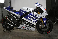 The Yamaha YZR-M1 of Jorge Lorenzo