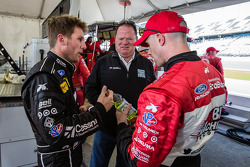 Jamie McMurray, Chip Ganassi and Marino Franchitti
