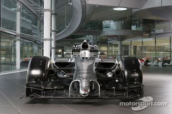 The McLaren Mercedes MP4-29