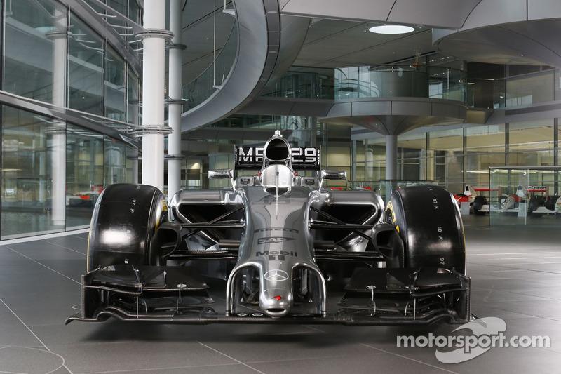 The McLaren Mercedes MP4-29