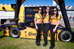 The charming Continental Tire girls