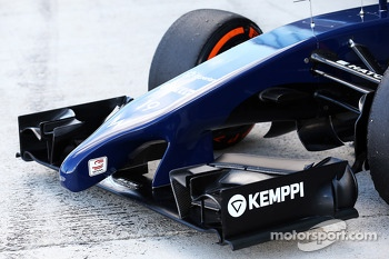 Williams FW36 - front wing and nosecone detail