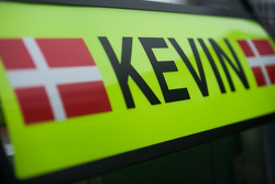 Pit board for Kevin Magnussen, McLaren