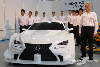 Lexus releases the new RC-F