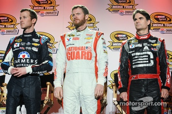 Kasey Kahne, Dale Earnhardt Jr., Jeff Gordon