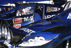 M-Sport Ford team area