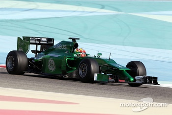 Robin Frijns, Caterham CT05 Test and Reserve Driver