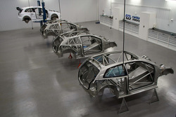 Volkswagen assembly of the Polo RX at Marklund Motorsport