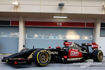 The Lotus F1 E22 is officially unveiled
